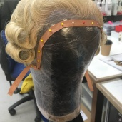 Wig tidyup for the Nutcracker